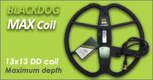 plato para detectores de metales blackdog max coil