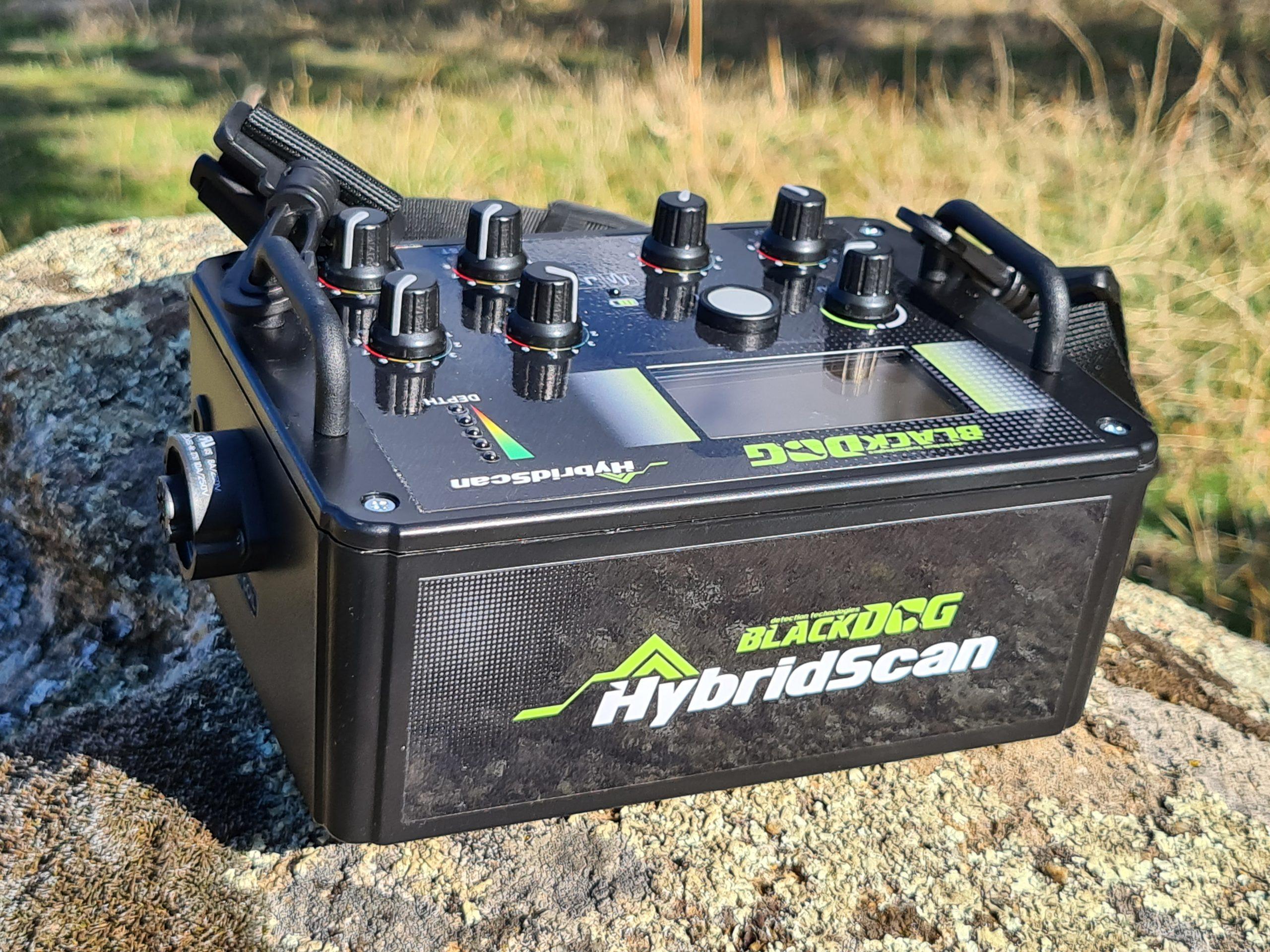 detector de metales hybridscan